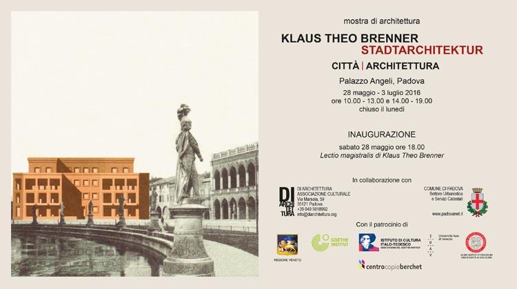 Klaus Theo Brenner – Stadtarchitektur