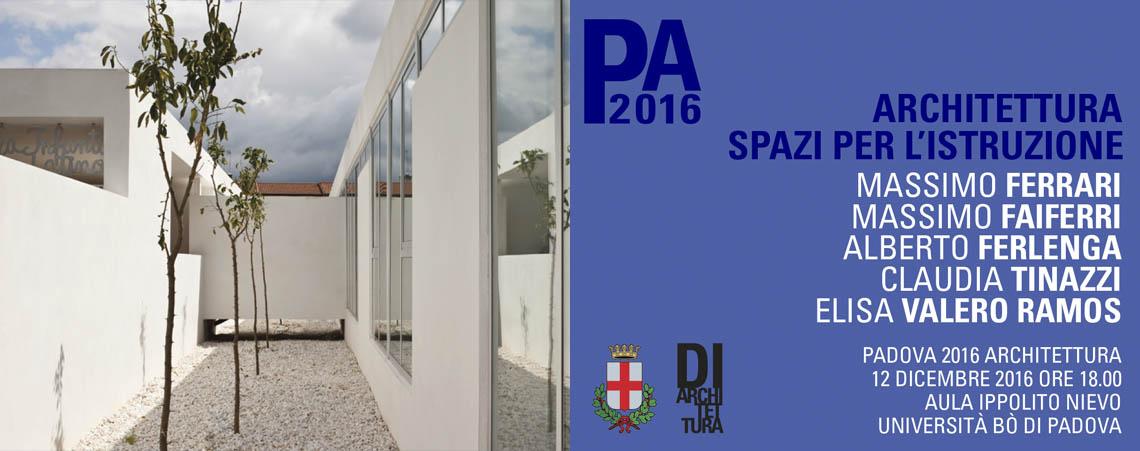 Associazione Culturale Di Architettura - Architettura: Spazi per l'istruzione